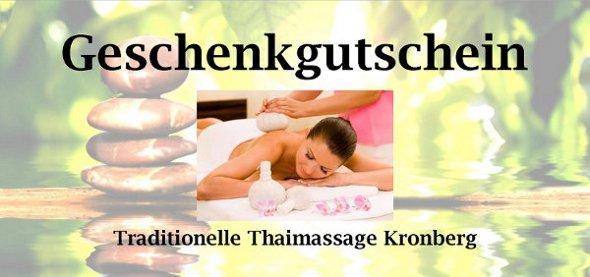 Traditionelle Thailändische Massage Kronberg Im Taunus Inh